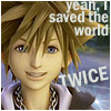 Sora -- I saved the world