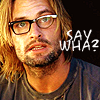 spreading the love for fake news: lost sawyer - say whaaa!? - me parto
