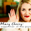 Mary Cherry: supports gays