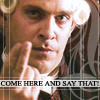 Lord Cutler Beckett: come here