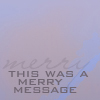 Tallian: merry message