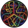 rainbow knotty peace
