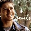 SPN Dean smile pilot text