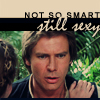 literate and stylish: smart (or not) is sexy! Han!
