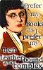 '...like my men like i like my books...'