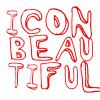 icon beautiful