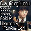 All I know of Harry Potter...