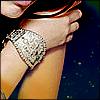 think of silver around my wrist