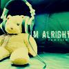 I'm Alright Bear - headphones