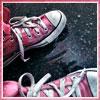 Розовые кеды