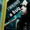 swallowed a bug by swirlinicons