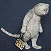 кот с авоськой
