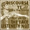 Speak to the Hand