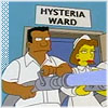 Hysteria Ward, Simpsons Hysteria Ward
