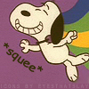 snoopy squee by eyesthatslay