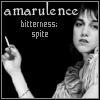 amarulence bitterness