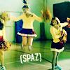 cheer spaz
