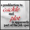 plot, cackle
