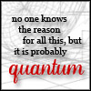quantum, science, no one knows