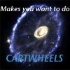 Cartwheels - happy