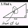 """find """"x"""" by...somebody"""