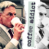 Gibbs and his coffee