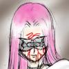 Bleedy eye-mask