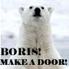 Boris, door