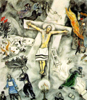 Chagall/White Crucifixion