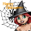 redblack32: Pooka Witch by Laura