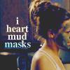 Heather: mud masks