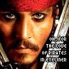 Pirates Eyeliner