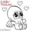 Eyja: tooo cute! cibi-thulhu