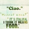 Italy (ciao), Pratchett (ciao)