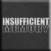 insufficent memory