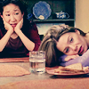 GA - Cristina and Mere at the table