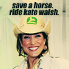 ride kate walsh? yes please.