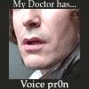 Scarlett Girl: DW - Eight - My Doctor has voice pron -