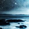 blue dark scenic sky