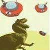 dinogrl: UFO's vs T-Rex
