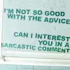 Mala: Sarcasm
