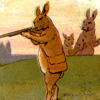 the hares turn hunters