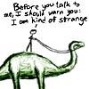 XKCD - btw i'm strange