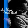Friends   sky blue and black