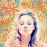 jess: kb; flowers [kiss]