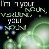 noun verbing
