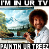 The Heavy Metal Matador: Bob Ross