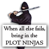 writing: plot ninjas