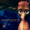 Unamused