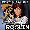 Politics: BSG: Voted for Roslin